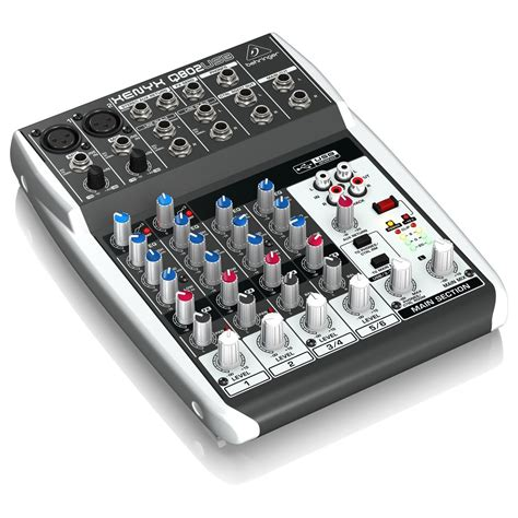Mixer Usb behringer xenyx q802usb usb mixer at gear4music
