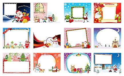 photo editing themes free download 20 free christmas photo frame templates images free
