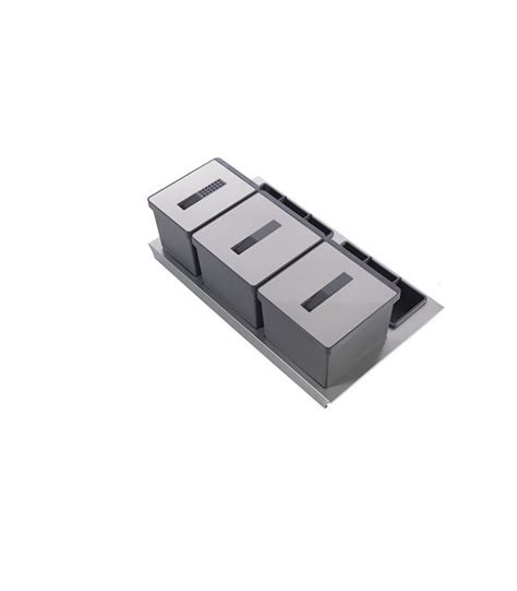 portacoltelli da cassetto kit pattumiera da cassetto tecnoinox t2 mancini
