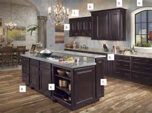 wall color with espresso cabinets house furniture