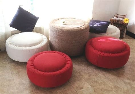 Kursi Ban Bekas membuat sendiri meja dan kursi santai dari ban bekas loexie