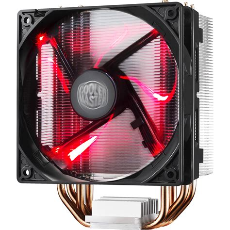 cooler master cpu fan cooler master hyper 212 led cpu cooler red led fan