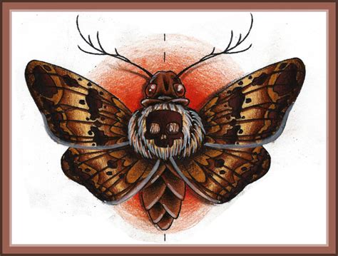 death moth by puppetdude on deviantart