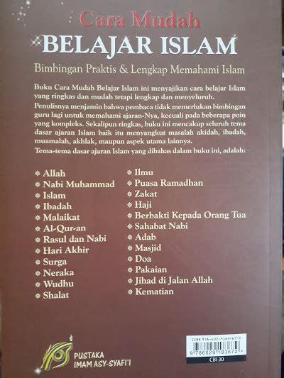 buku cara mudah belajar islam bimbingan dasar islam toko muslim title