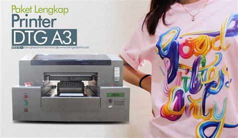 Paket Printer Dtg 4 printer dtg murah paket lengkap printer dtg a3 bengkel print indonesia