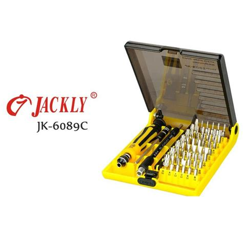 Jackly 33 In 1 Precision Screwdriver Professional Repai Diskon jackly 45 in 1 precision screwdriver professional repair tool kit jk 6089c jakartanotebook