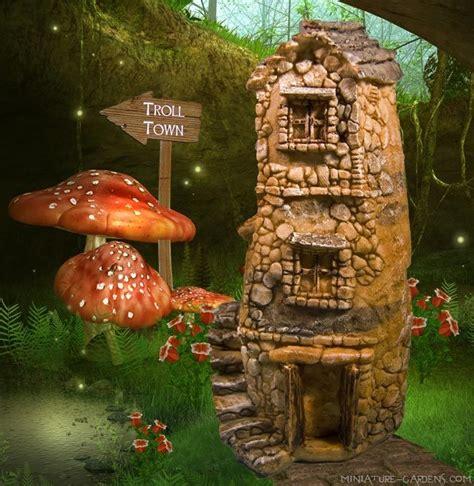 troll doll house 156 best fairy houses images on pinterest fairies garden
