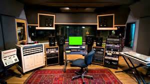 Music Studio Music Studio Small Screen Screen Royalty Free