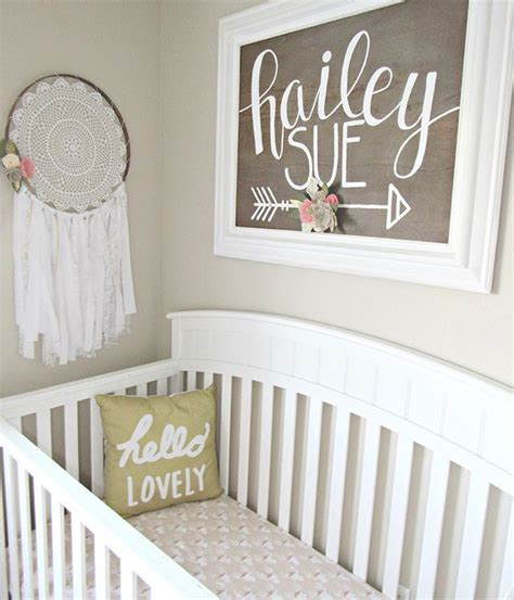 baby name signs for bedrooms baby girl boho woodland nursery nursery ideas