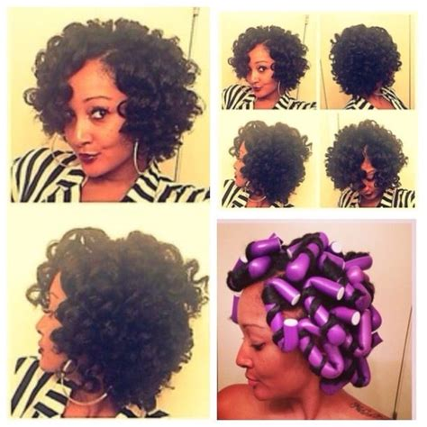flexi rod hairstyles relaxed hair flexi rods kinky curly relaxed extensions board kinky