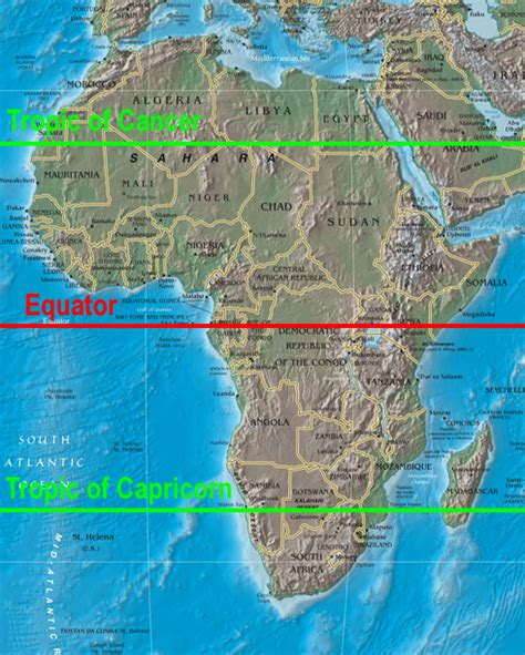 africa map with equator map of africa with equator deboomfotografie