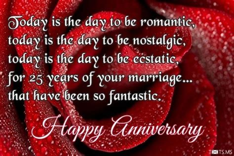 25th Wedding Anniversary Wishes Messages by 25th Wedding Anniversary Wishes Messages Quotes Images