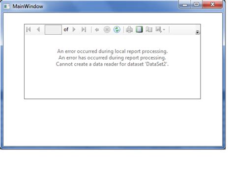 reportviewer wpf reportviewer wpf wpf中使用reportviewer报表 yang fei 博客园