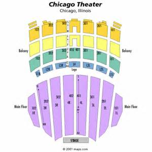 Chicago Theater Seat Map chicago theatre seating chart chicago theatre tickets