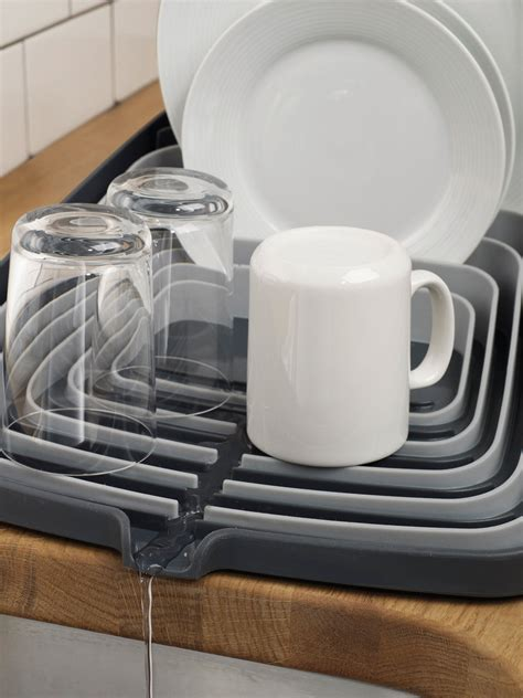 Joseph Joseph Dish Rack by Arena Draining Rack Dish Drainer Grey Grey By Joseph