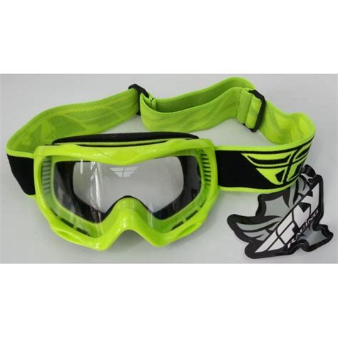 fly motocross goggles fly racing focus youth motocross goggle hi visibility
