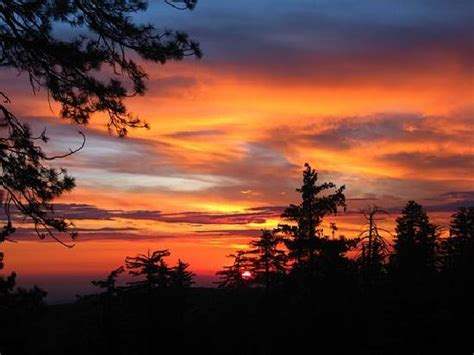 beautiful views beautiful views from our csite picture of sunset cground sequoia and