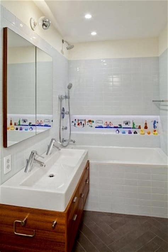 Children S Bathroom Tiles by Creating A Kid Friendly Bathroom Kidspace Interiors