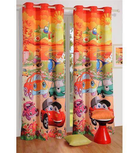 childrens door curtains swayam digital printed kids door curtain with eyelets by