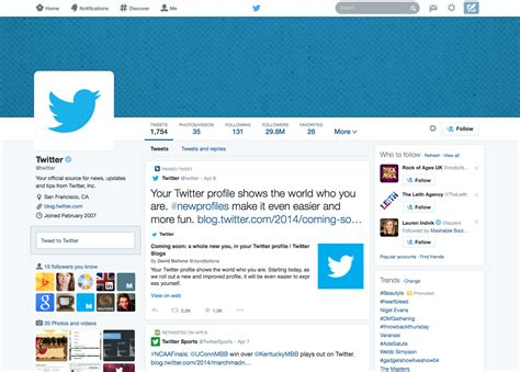 twitter new layout new twitter layout what you need to know punch