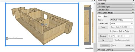 sketchup layout resize viewport layout not update a new section from sketchup layout