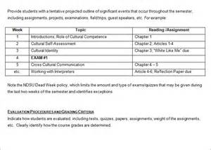 High School Syllabus Template by Syllabus Template Free Templates Free Premium Templates