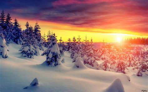 imagenes de paisajes uñas зима прекрасные пейзажи на рабочий стол winter