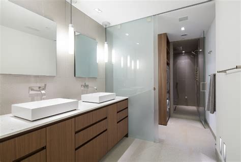 poliform bathrooms rosslyn penthouse industrial bathroom dc metro by