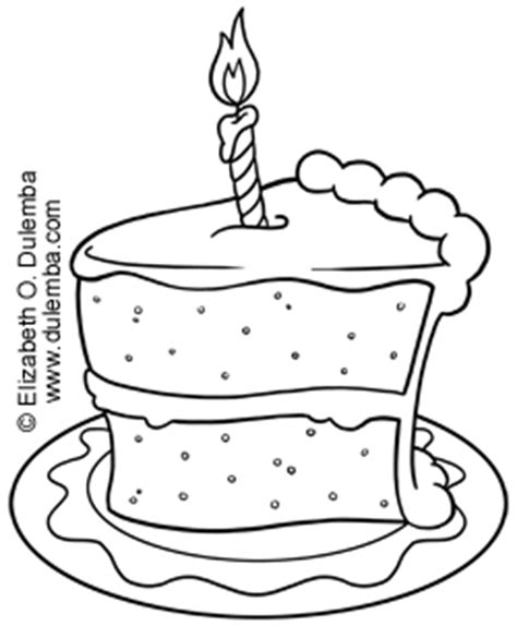 coloring pages of a piece of cake dulemba coloring page tuesday piece of cake