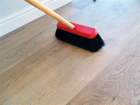 What is the best way to clean my hardwood floor?   The Wood