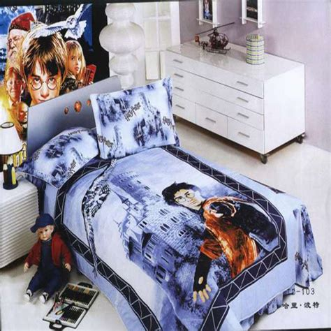 harry potter queen bed set authentic 100 cotton hot harry potter bedding children