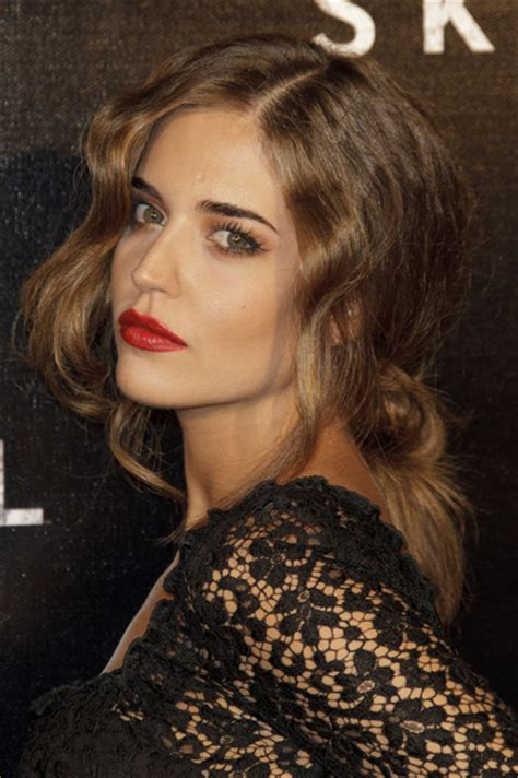 clara alonso hair color clara alonso photos photos skyfall madrid premiere
