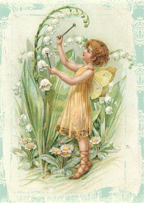 imagenes hadas vintage ilustraci 243 n gratis de hadas vintage flores alas