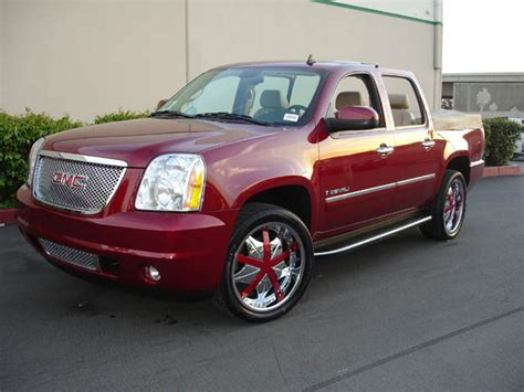 gmc yukon red gmc yukon price modifications pictures moibibiki