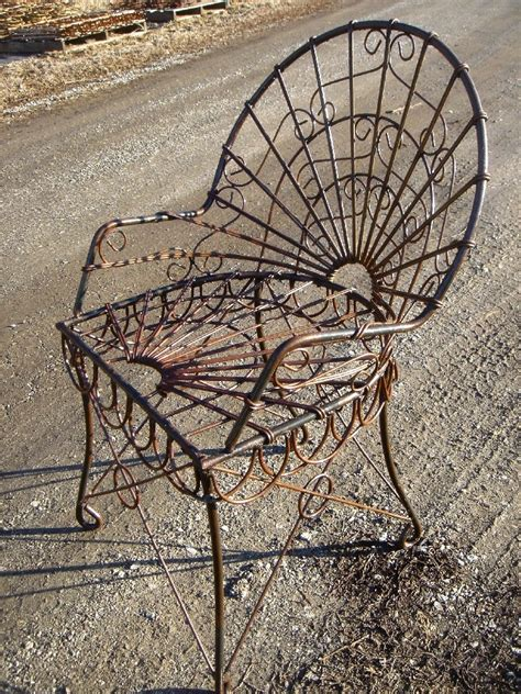 wrought iron table w 2 chairs garden patio furniture