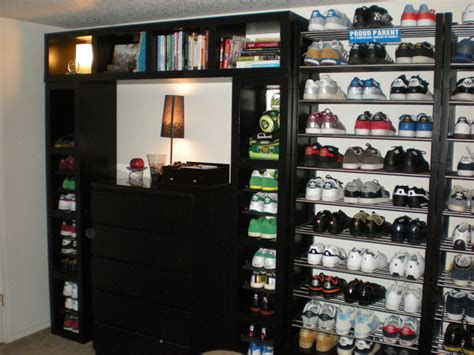 magnificent apparel room with bookshelf combination