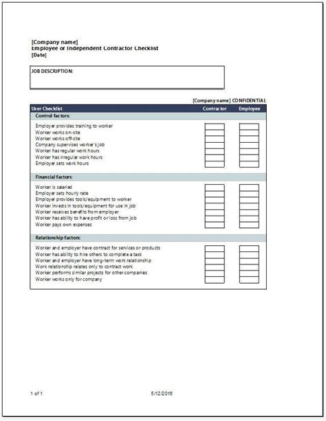 contractor checklist template gse bookbinder co
