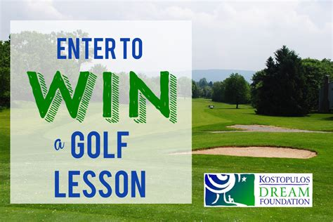 Golf Giveaways - 7 ways to enter the c kostopulos golf lesson giveaway