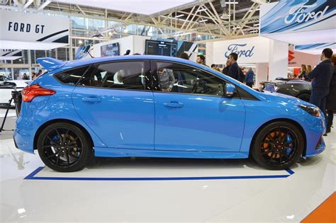 2017 Ford Focus RS profile at 2016 Bologna Motor Show