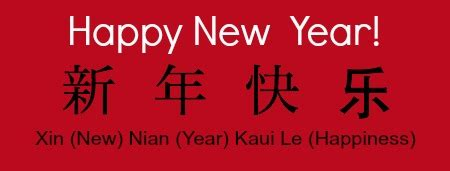 new year greetings xin nian kuai le food for new year thoroughly thriving
