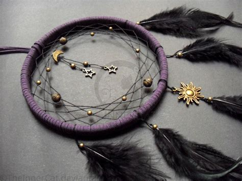 Handmade Dreamcatcher - midnight universe catcher made by theinnercat