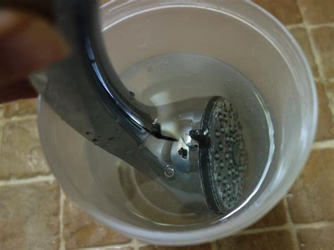 What Cleans Shower Heads by Lazy Way To Clean Shower Heads Curious Nut