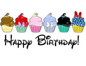 princess cupcakes happy birthday disney snow by