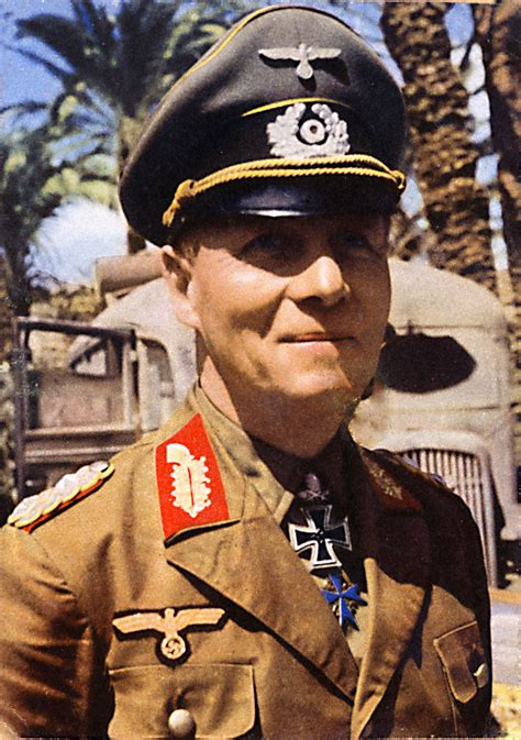 wwii german general erwin rommel refused to comply with