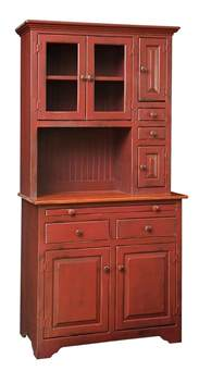 Primitive Kitchen Furniture by Primitive Hoosier Hutch Step Back Country Kitchen Cottage