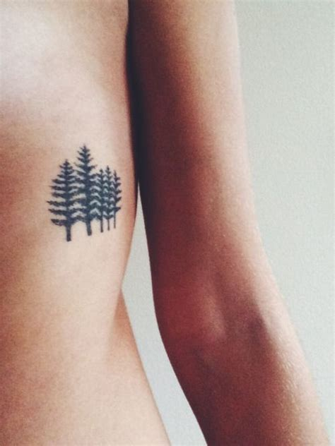 family tattoo placement trees tattoologist sister tattoos pine and pine tree