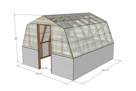 crav barn style greenhouse plans house plans