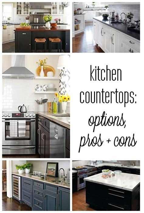 Kitchen Countertop Options Pros And Cons by Centsational 187 Archive Kitchen Countertop