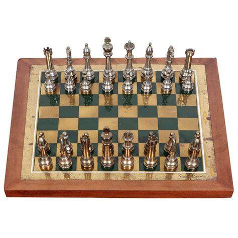 futuristic chess set rare pierre cardin chess set at 1stdibs