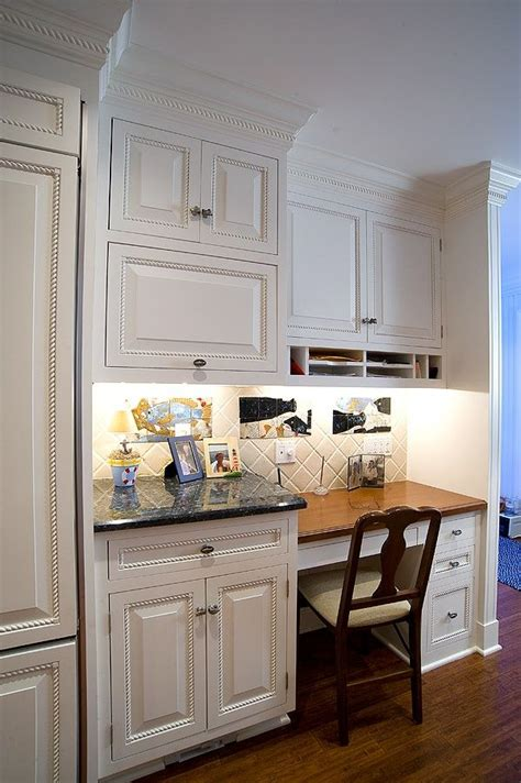 kitchen cabinet desk ideas kitchen desk area ideas kitchens